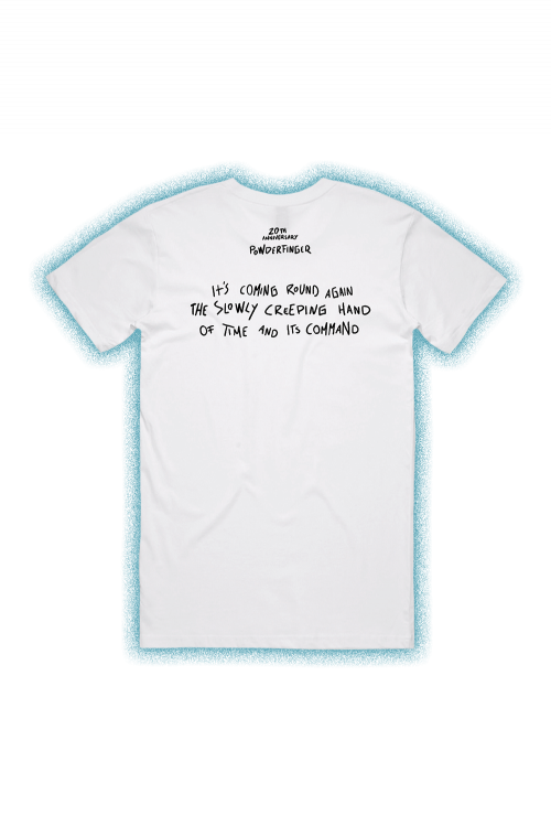 These Days Lyric White Mens Tshirt by Powderfinger