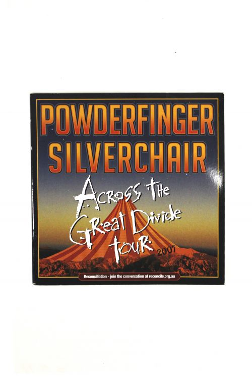 Tour Program Across The Great Divide by Powderfinger