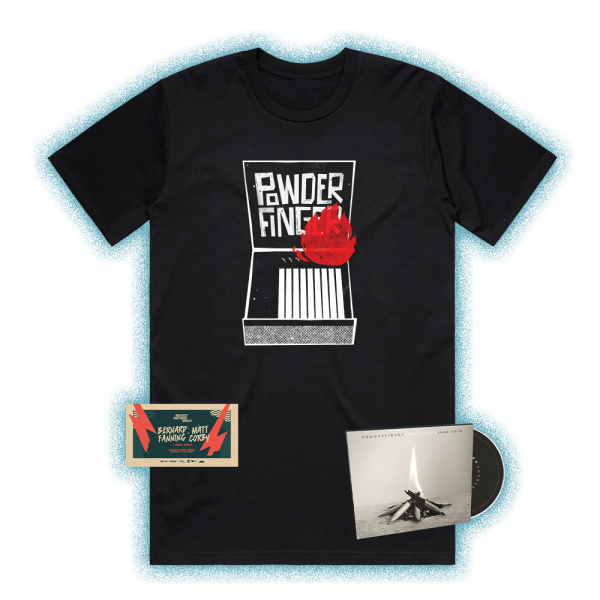 Unreleased 1998-2010 CD/ Matches Black Tshirt+ BF Ticket Bundle