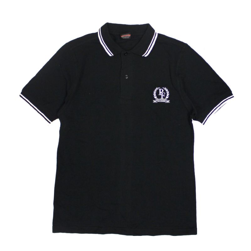 Black Shield Mens Polo Shirt